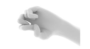 手指のイラスト