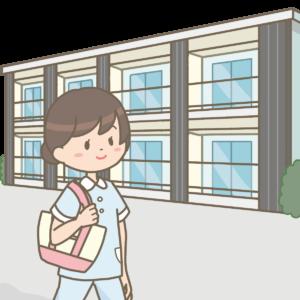 実習生と寮のイラスト