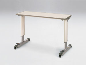 オーバーベッドテーブルの写真